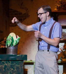 "Mike Hipp in ""Little Shop of Horrors."""