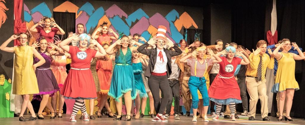 """Seussical,"" the 2018 Youth on Stage summer musical."